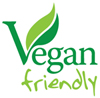 All our products are Vegan friendly